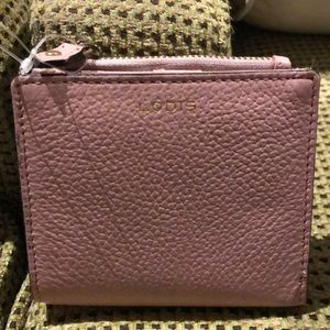 Lodi's Light Pink Wallet. NWOT's